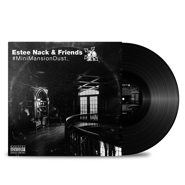 Estee Nack vinyl album MiniMansionDust. Vol1&2 ItemRecords front Side
