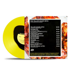 Back Yellow_House Ankhlejohn Yellow & Black Drip Limited Edition Itemrecords