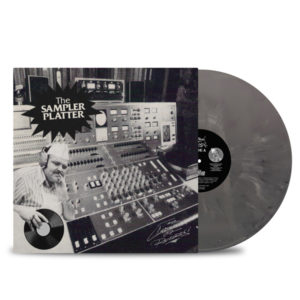 THE CUSTODIAN OF RECORDS - The Sampler Platter Vinyl FRONT_GREY Marbled