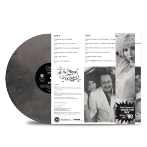 THE CUSTODIAN OF RECORDS - The Sampler Platter Vinyl_OBI_STRIP-BACK_GREY_MARBLED