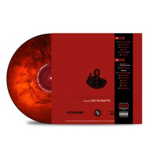 Killer_Ben_Twiz_The_Beatpro_Invincible_Ben_BACK_Side_Cover_RED_IN_Dark_Translucent_RED_Obi-Strip_Vinyl_LP