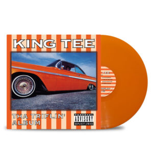 KING_TEE_THA_TRIFLIN_ALBUM_FRONT_Side_Cover_ORANGE_Vinyl_LP