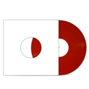 Al_Divino_Front_Cover_Test_Pressing_Red_VINYL