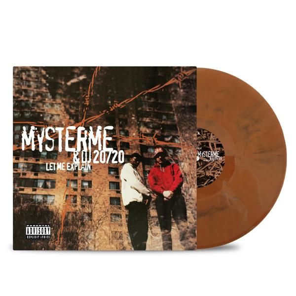 Mysterme_DJ_20/20_Let-me-explain-front_cover-brown_vinyl