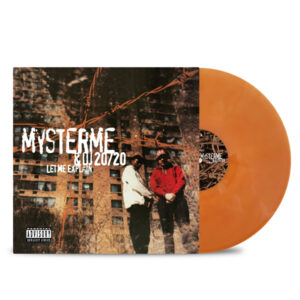 Mysterme_DJ_20/20_Let-me-explain-front_cover-rusty-orange_vinyl
