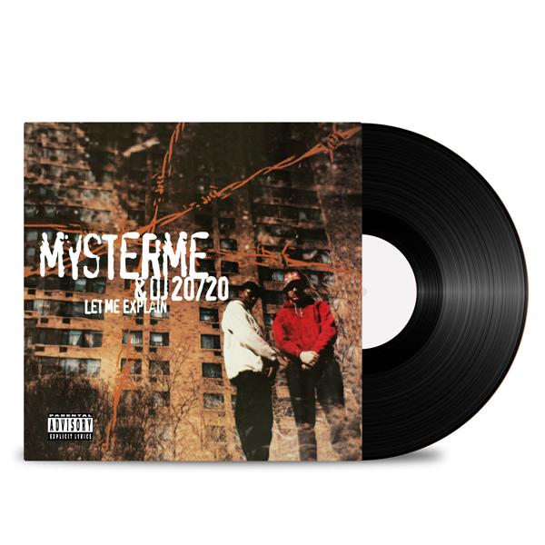 MYSTERME_DJ_20/20_Front_Cover_Test_Pressing_Black_Vinyl