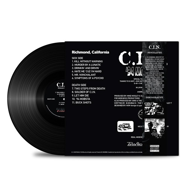 C.I.N.-'94 Mobsta's_Back_Cover_Black_Vinyl_Obi_Strip