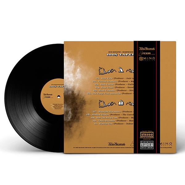 hus_kingpin-rozewood_100_taper_black_vinyl_obi_strip_back_cover