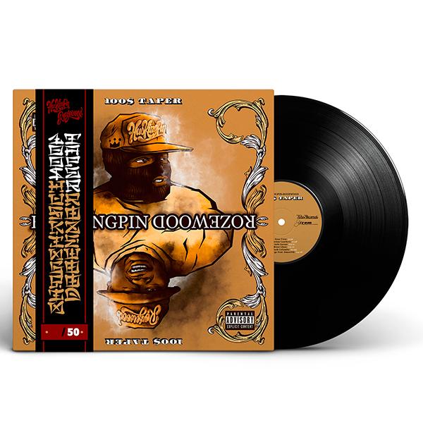 hus_kingpin-rozewood_100_taper_black_vinyl_obi_strip_front_cover