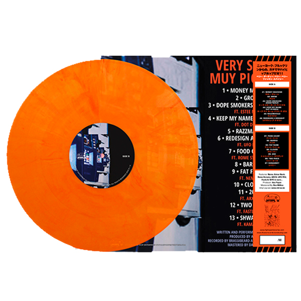 Bub_Styles_Ace_Fayce_Very-Sucio,-Muy-Picante_Transparent_Orange_Back_Cover_Handnumbered_Obi_Strip_Orange