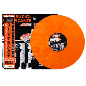 Bub_Styles_Ace_Fayce_Very-Sucio,-Muy-Picante_Transparent_Orange_Front_Cover_Handnumbered_Obi_Strip_Orange