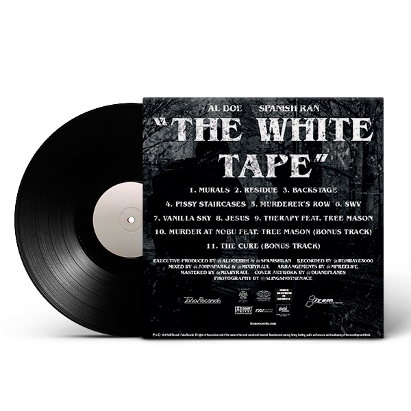 al_doe_spanish_ran-white_tape_black_test_pressing_back_cover