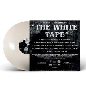 al_doe_spanish_ran-white_tape_white_opaque_back_cover