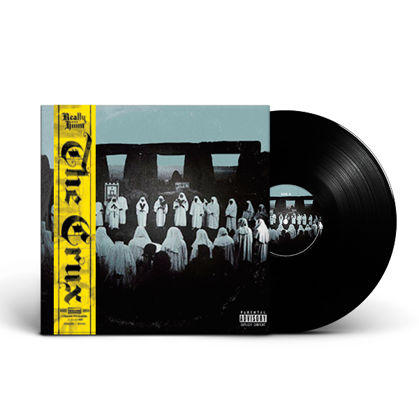Really Hiiim - The Crux_Cult_Strip_Front_Cover_Black_Vinyl_LP