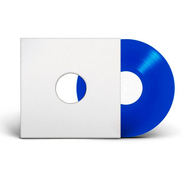 CODENINE_GRUBBY-PAWZ_AUERBACH'S_GARDEN_Test-Pressing_FRONT_COVER_BLUE_VINYL